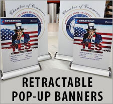 Retractable Pop-Up Banners