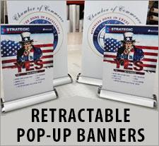 Retractable Pop-Up Banners