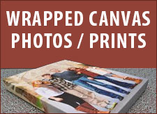 Wrapped Canvas Photos and Prints