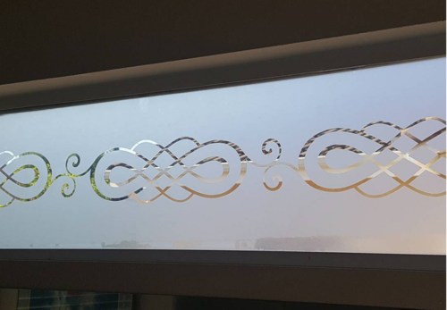 Frosted Window Vinyl