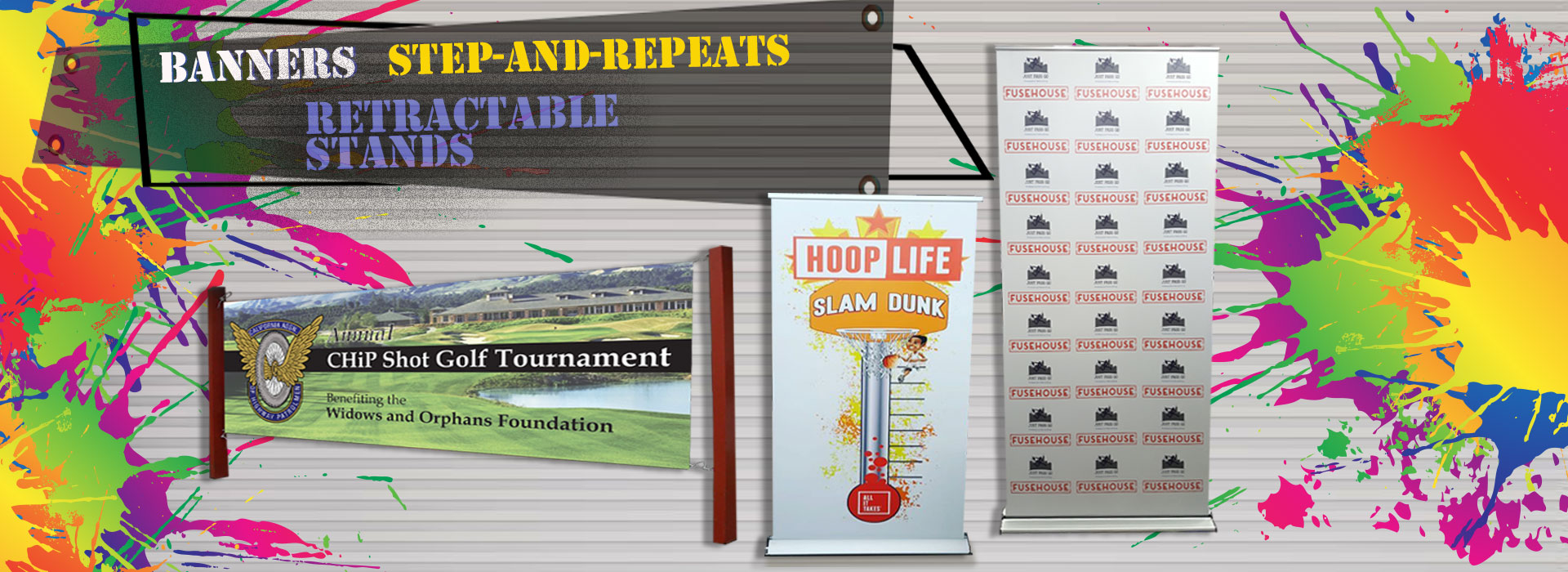 Banners, Step-and-Repeat, Retractable Banners