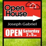 Open House Realty Signs